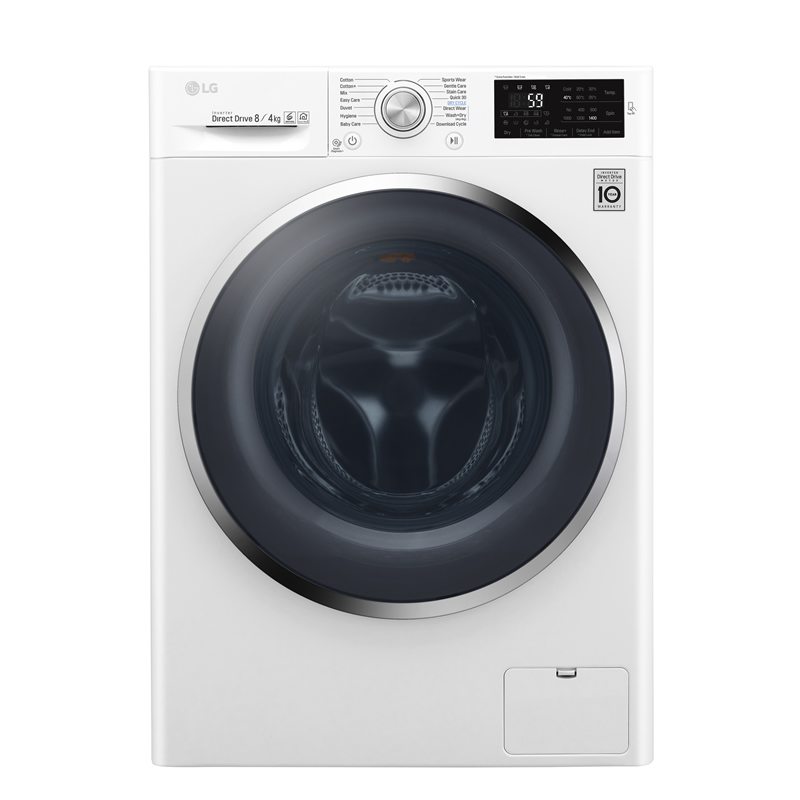 Image of 1400rpm DD Washer Dryer 8kg/4kg Load Class A White