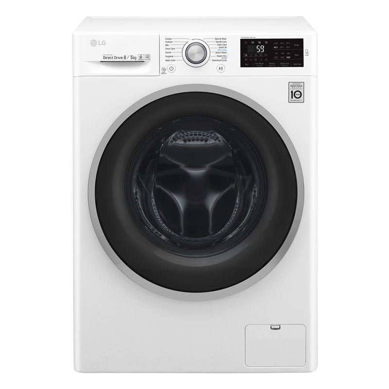 1400rpm DD Washer Dryer 8kg5kg Load Class A White