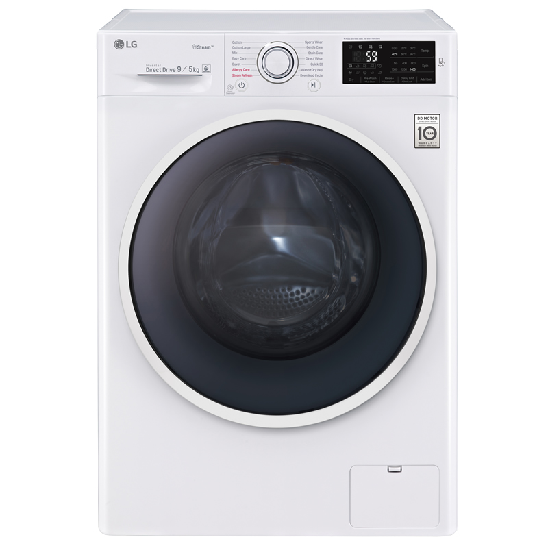 1400rpm DD Washer Dryer 9kg5kg Load Class A