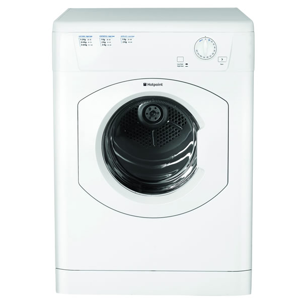 Image of 6kg Load Vented Tumble Dryer 12 Progs Class C White