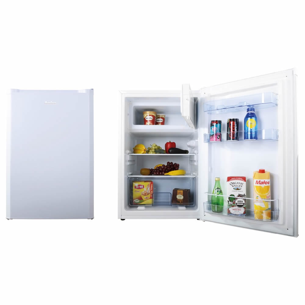 93litre Fridge with Ice Box Auto Defrost Class A+ White