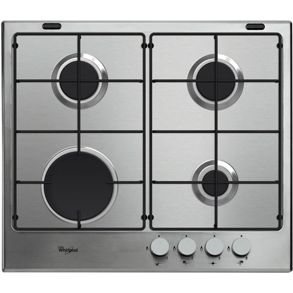 600mm Gas Hob 4 x Burners Stainless Steel