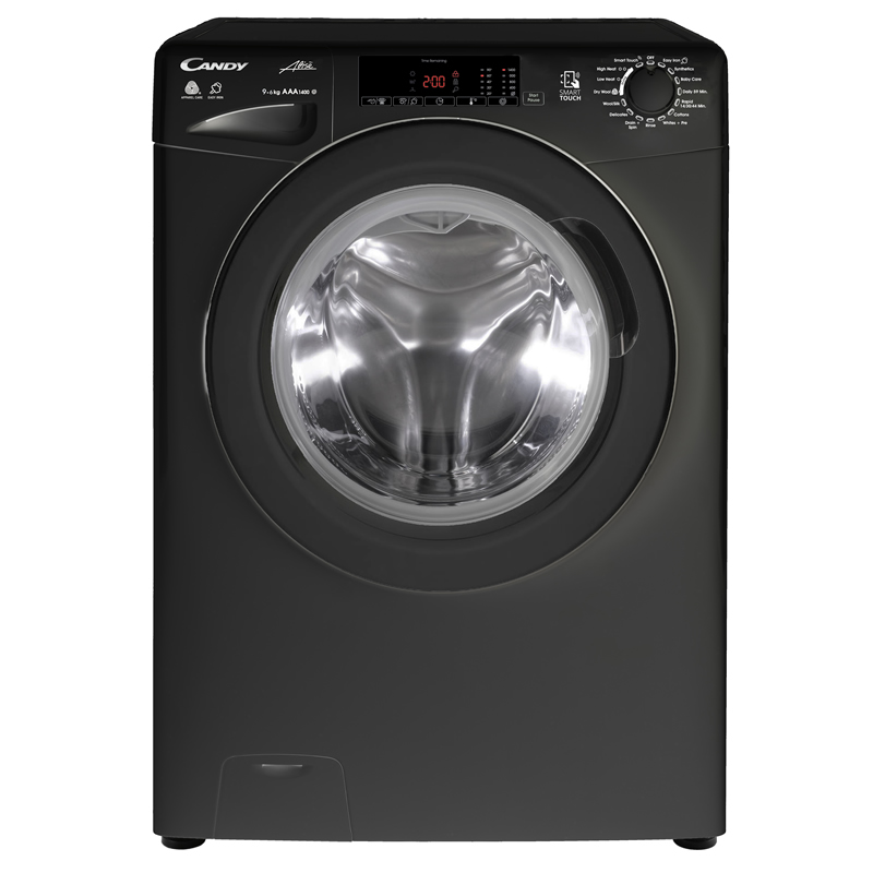 1400rpm Washer Dryer 8kg/5kg Load Class A Black