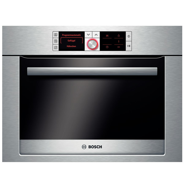 Compact Electronic Steam Oven 70 Auto Progs BSteel