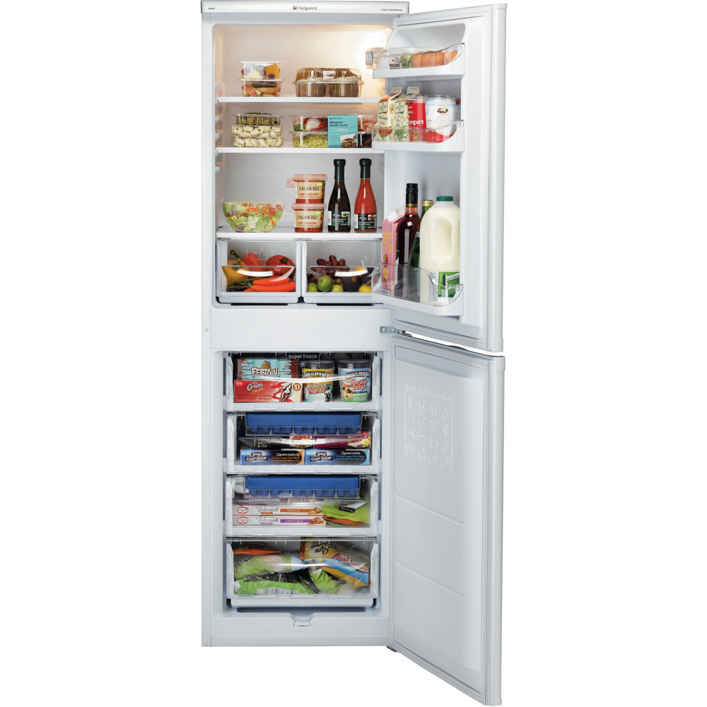 234litre Fridge Freezer Class A+ White