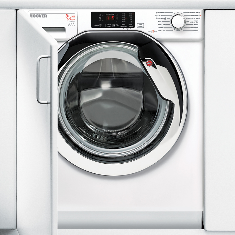 Image of 1400rpm Built-in Washer Dryer 8kg/5kg Load Class A