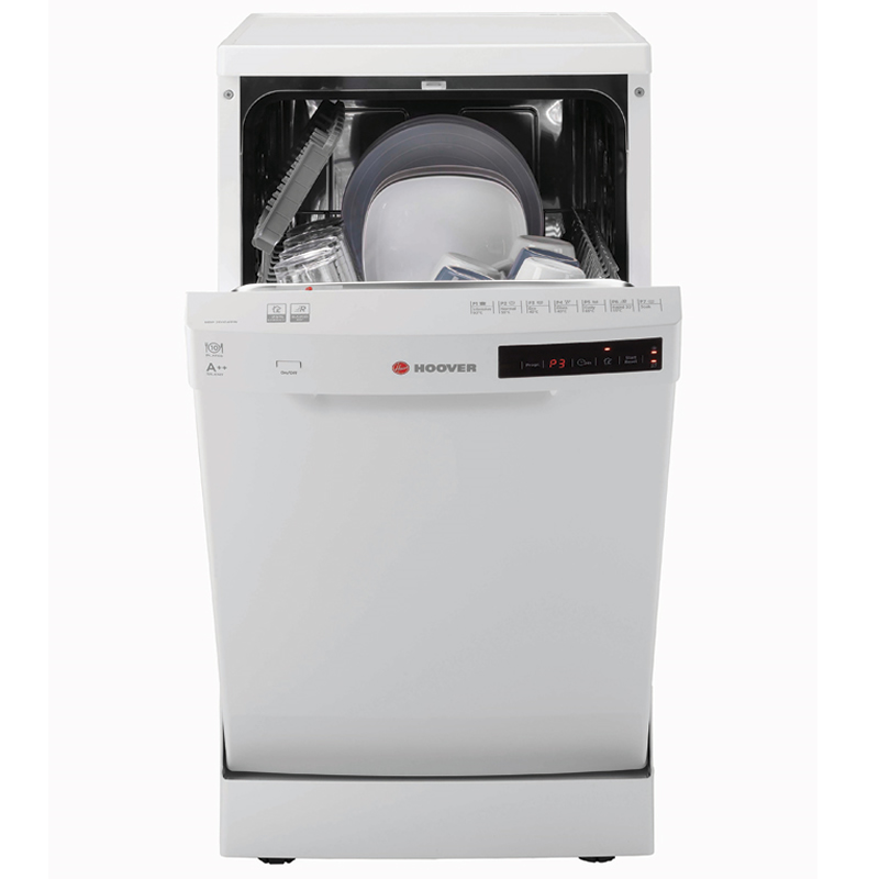 10-Place Slimline Dishwasher 7 Programs Class A++ White