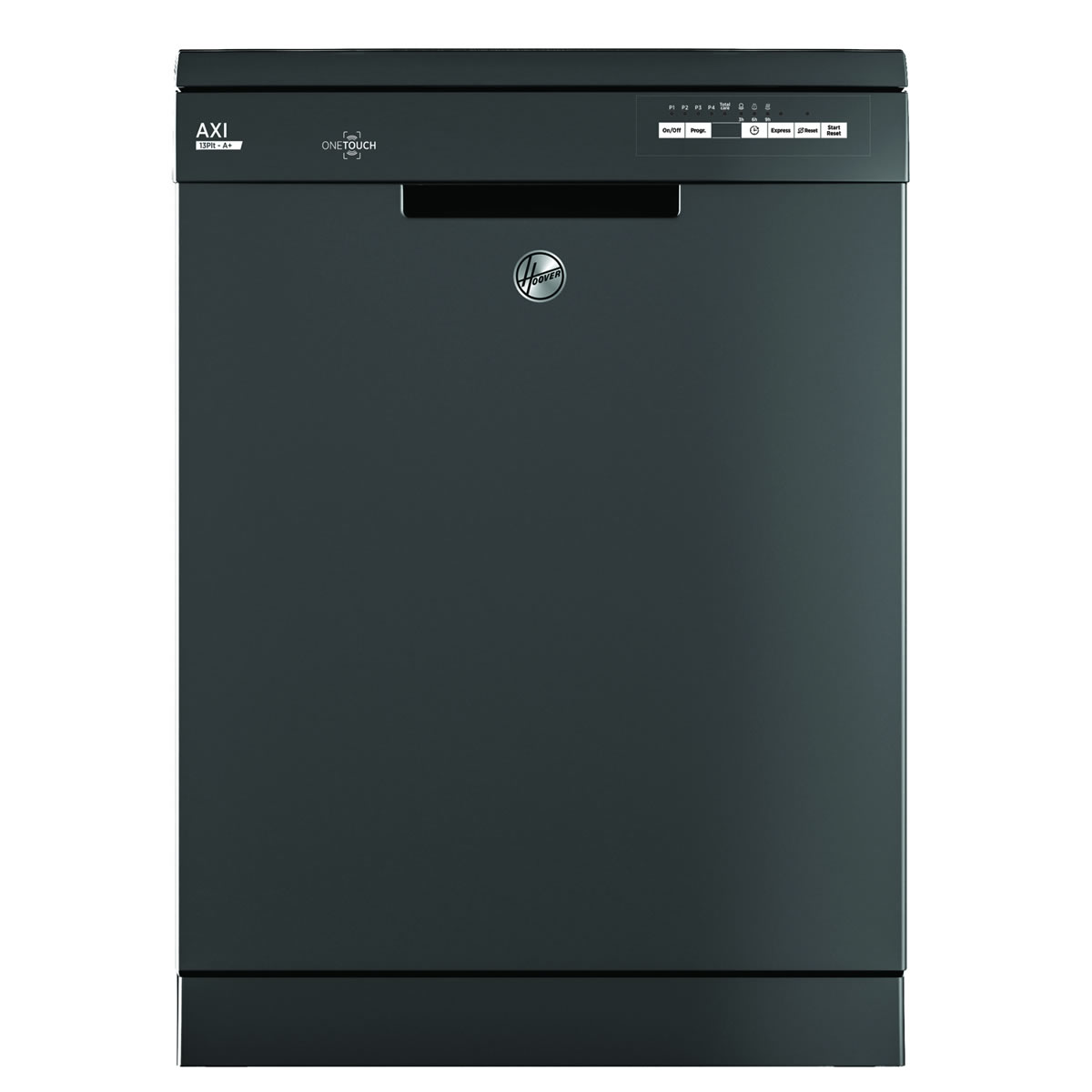13-Place Dishwasher 5 Progs Class A+ One Touch Graphite