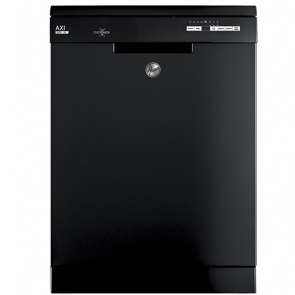 13-Place Dishwasher 5 Progs Class A+ One Touch Black