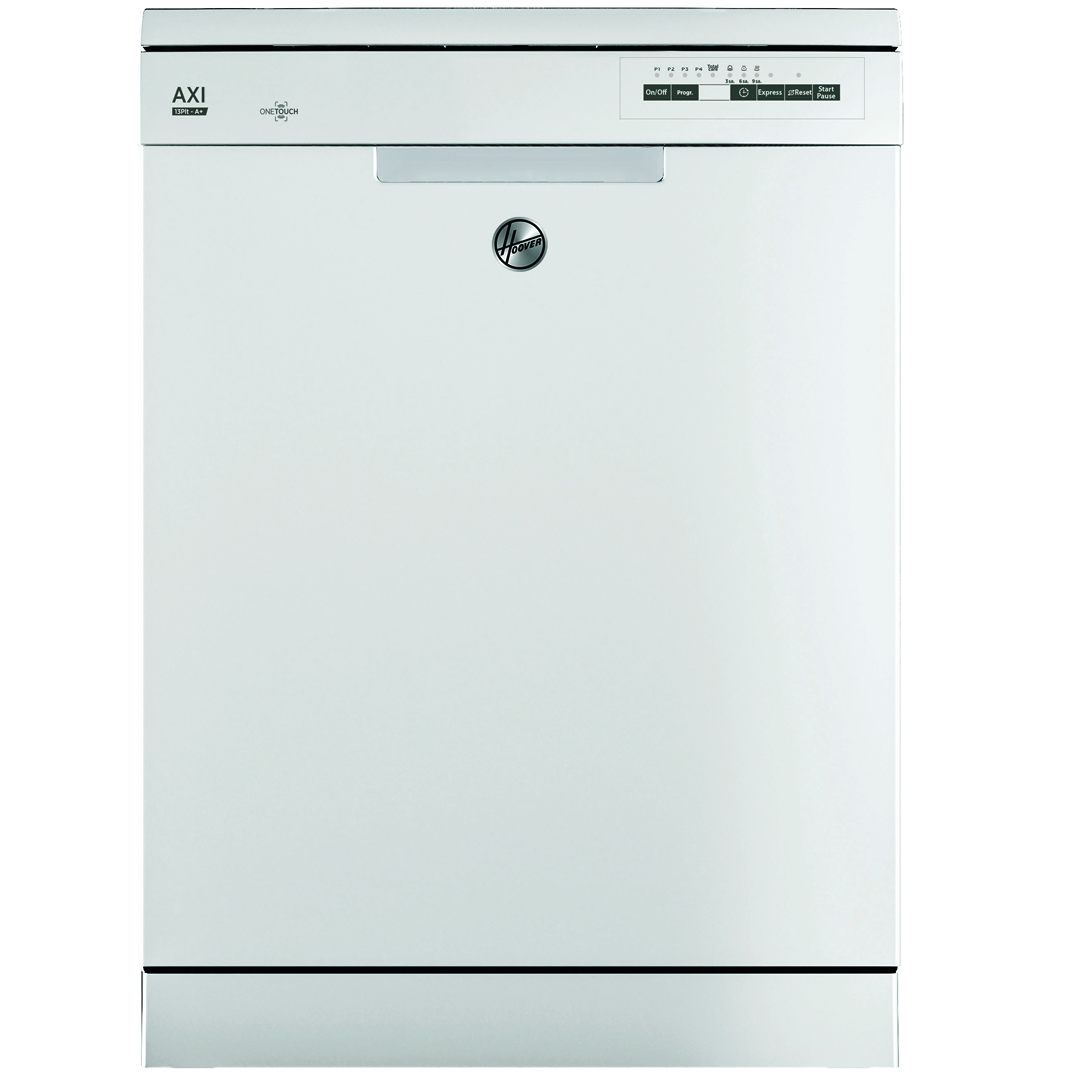 13-Place Dishwasher 5 Progs Class A+ One Touch White
