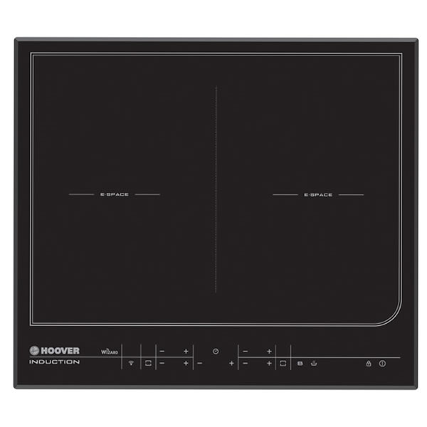 Induction Hob 4 x Cook Zones Touch Control WiFi Black