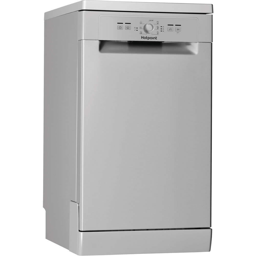 Image of 10-Place Slimline Dishwasher 6 Progs Class A+ Silver