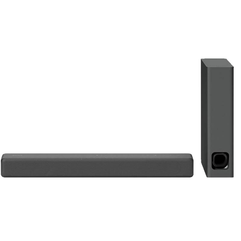 Sony HT-MT300 Bluetooth NFC Compact Sound Bar with Ultra-Slim Wireless Subwoofer, Black
