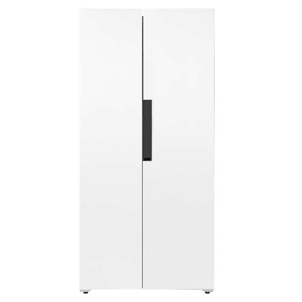 Iceking IK436W American Style Fridge Freezer in White 1 78m A Rated