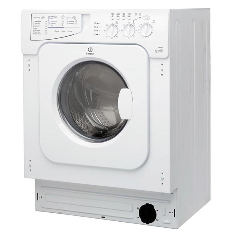 Image of 1200rpm Integrated Washer Dryer 6kg/5kg Load White