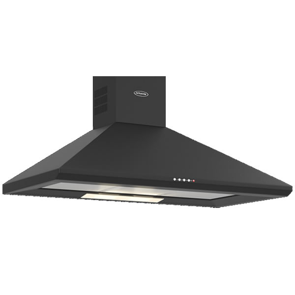 Compare retail prices of 1000mm Wall Mount Cooker Hood 3-Speed Fan Matt Black to get the best deal online