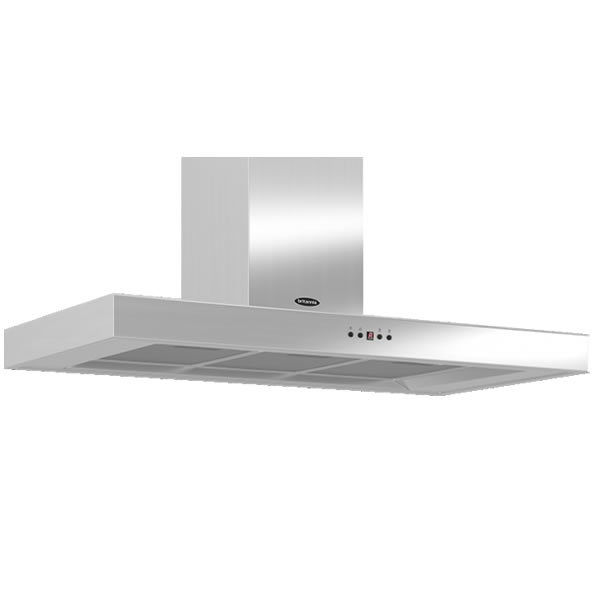 Image of 1000mm Wall Mount Cooker Hood 3-Speed Fan S/Steel