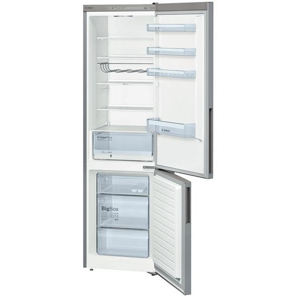 347litre Fridge Freezer Low Frost Class A++ S/S Look