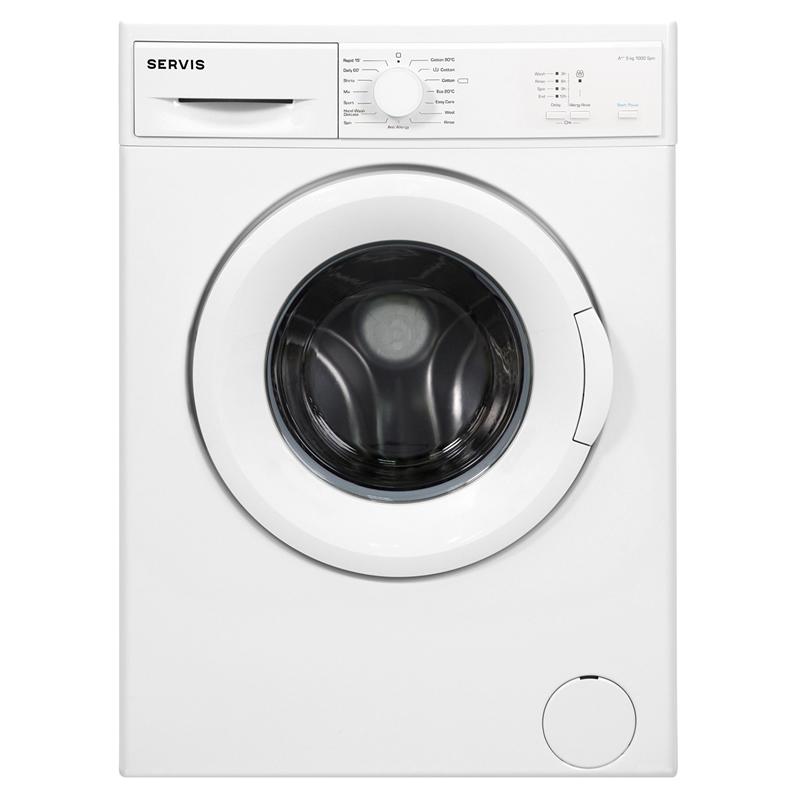 1000rpm Washing Machine 5kg Load Class A+ White