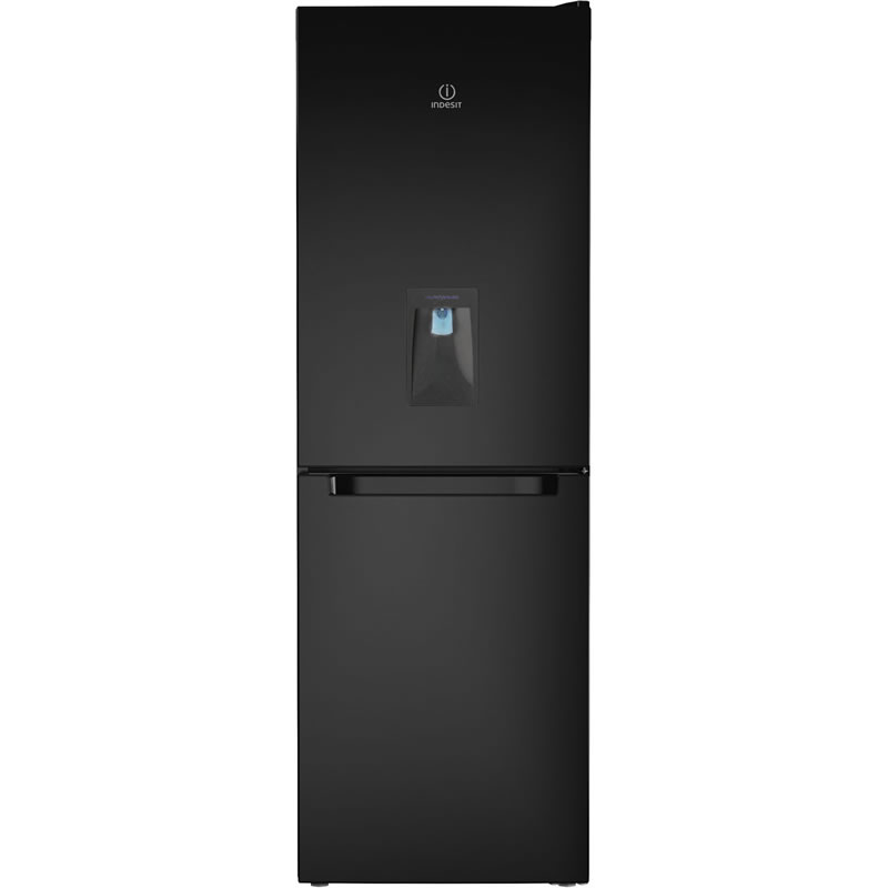 302litre Fridge Freezer FROST FREE Class A+ Black