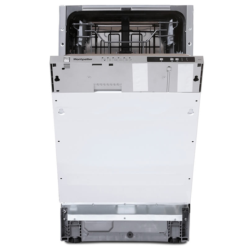 10-Place Integrated Slimline Dishwasher 6 Progs