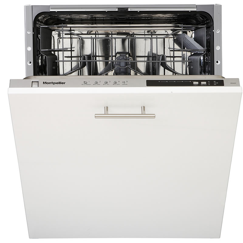 Image of 12-Place Integrated Dishwasher 5 Progs Class A+ White