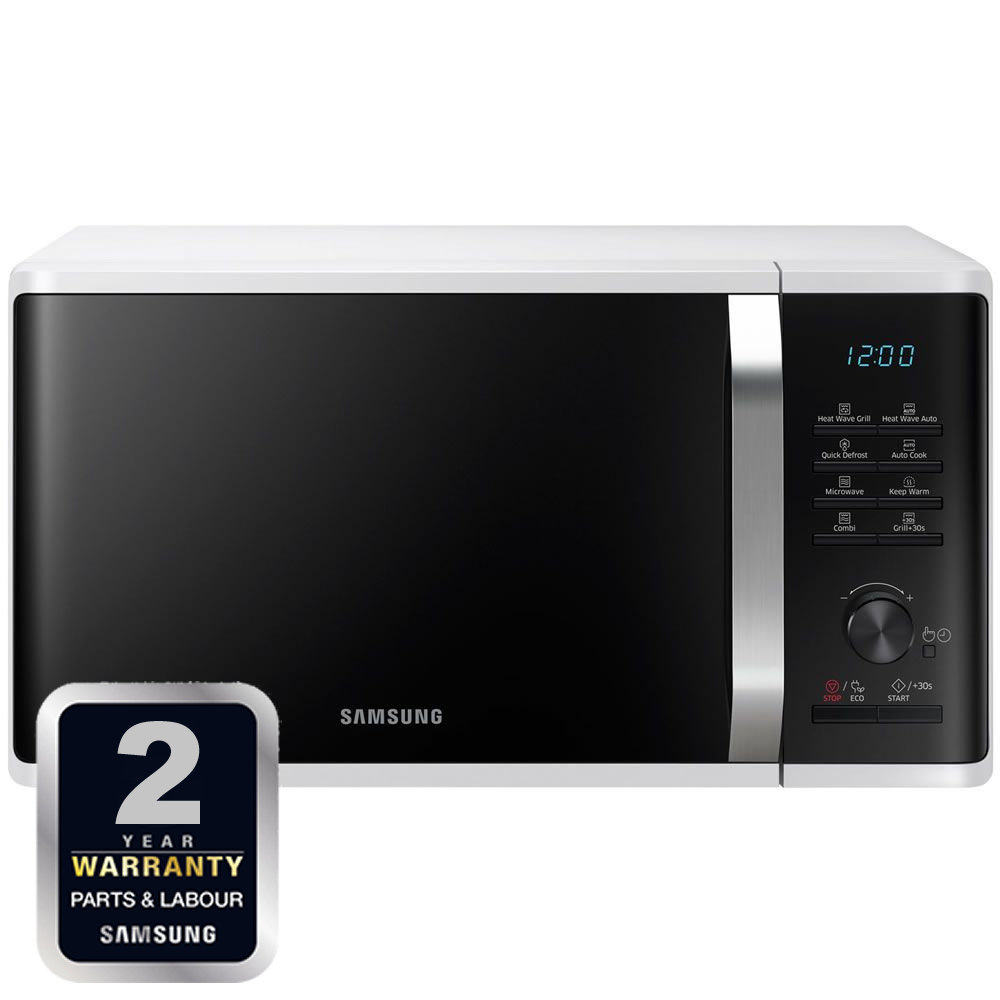 800Watts Microwave + Heat Grill 23litres 6 Power Levels
