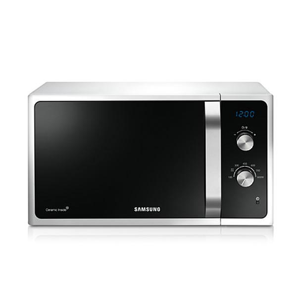 800Watts Compact Microwave LED Display White