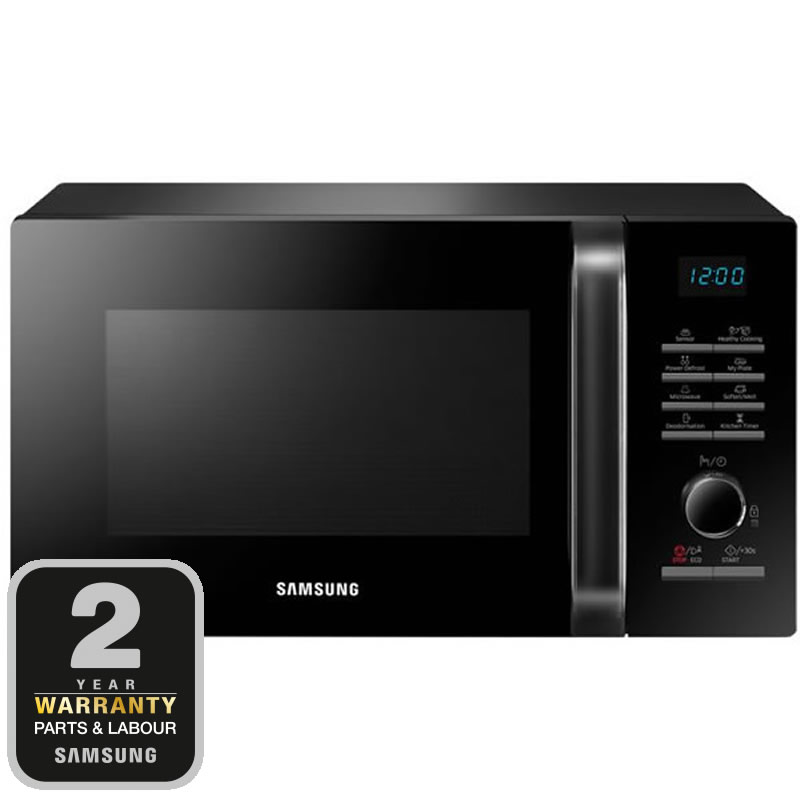 750Watts SOLO Microwave 6 Power Levels Auto Cook Black