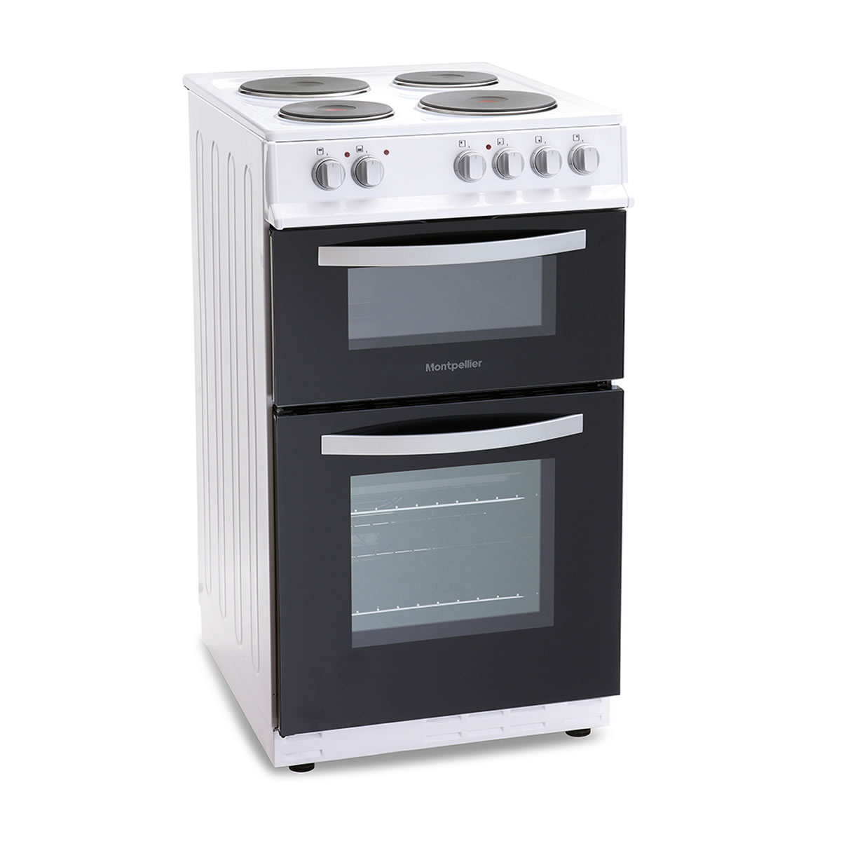 MTE50FW 500mm Twin Cavity Electric Oven & Grill White