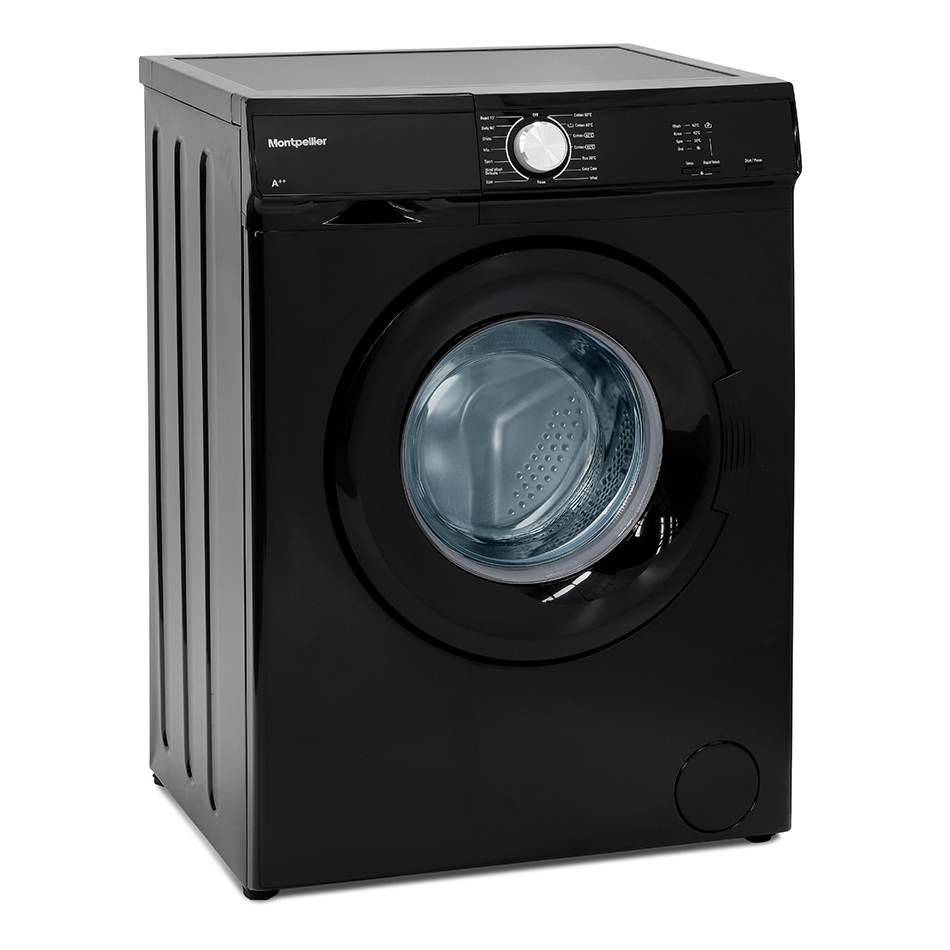 1000rpm 5kg Washing Machine Class A++ Black