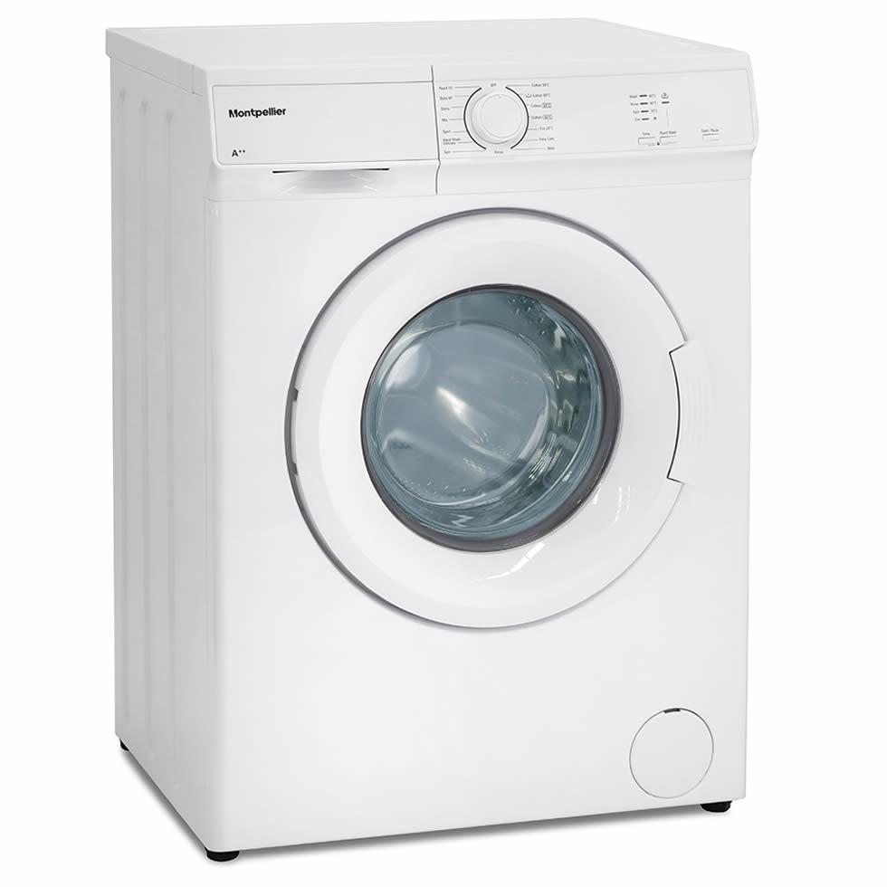 1000rpm 6kg Washing Machine Class A++ White