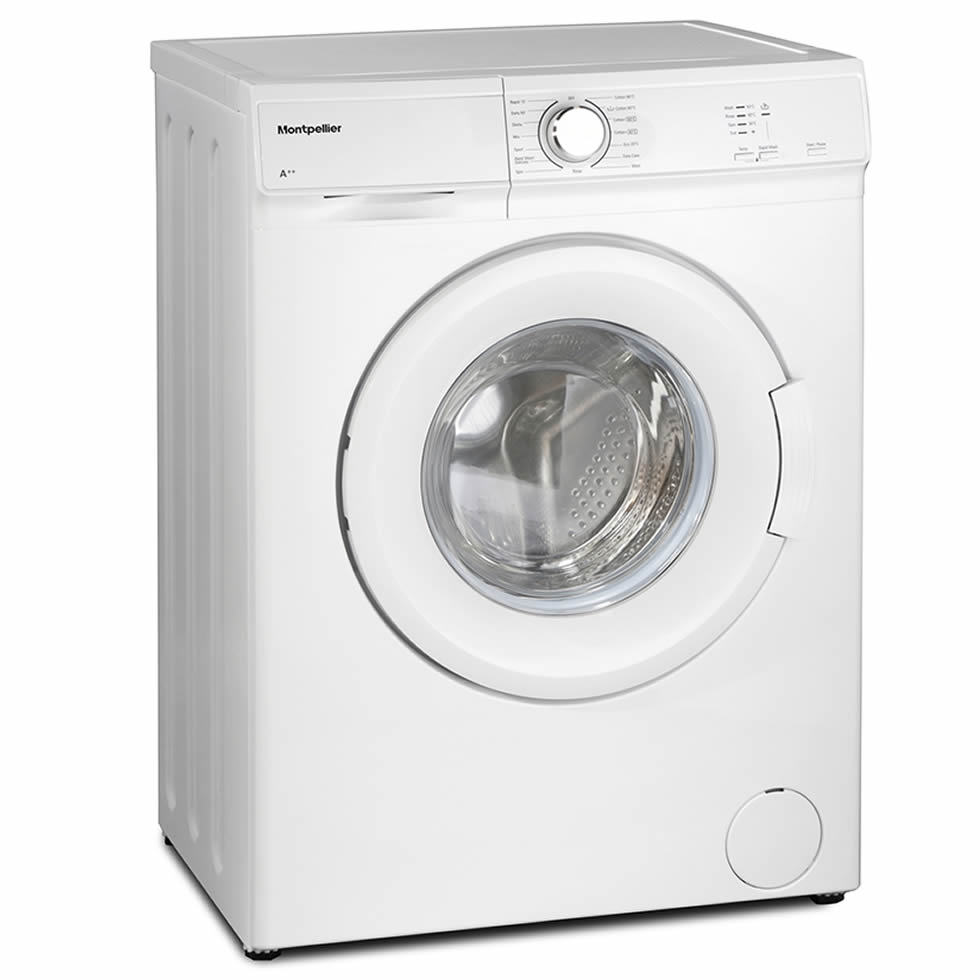 1200rpm 6kg Washing Machine Class A++ White