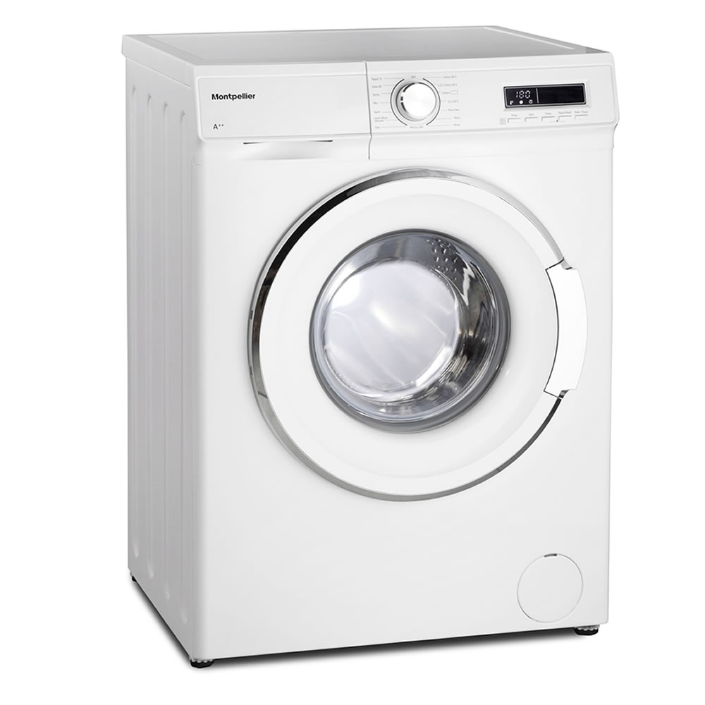 1200rpm 7kg Washing Machine Class A++ White