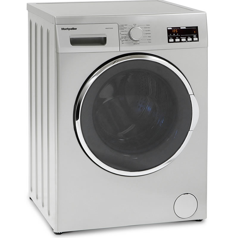 1200rpm Washer Dryer 7kg/5kg Load Class B Silver
