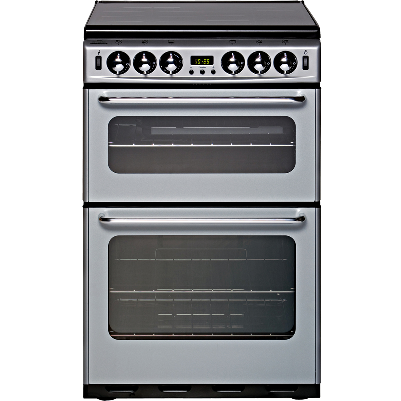 550mm Twin Cavity Gas Cooker FSD Silver