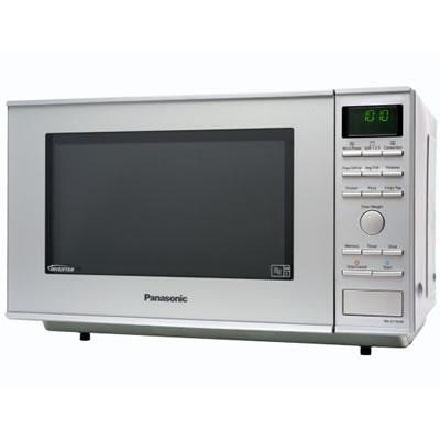 1000Watts Family Size Combi Microwave 27litres Metallic
