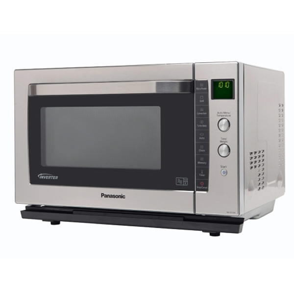 1000Watts Family Size Combi Microwave 16 Progs S/Steel