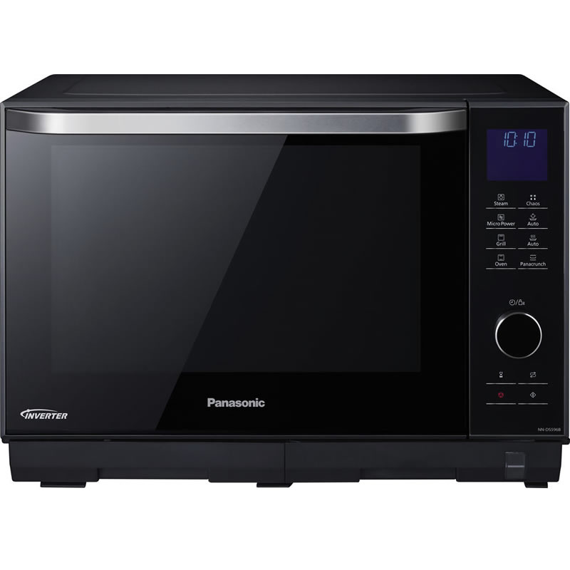 1000Watts Combi Steam Microwave 27litre Black