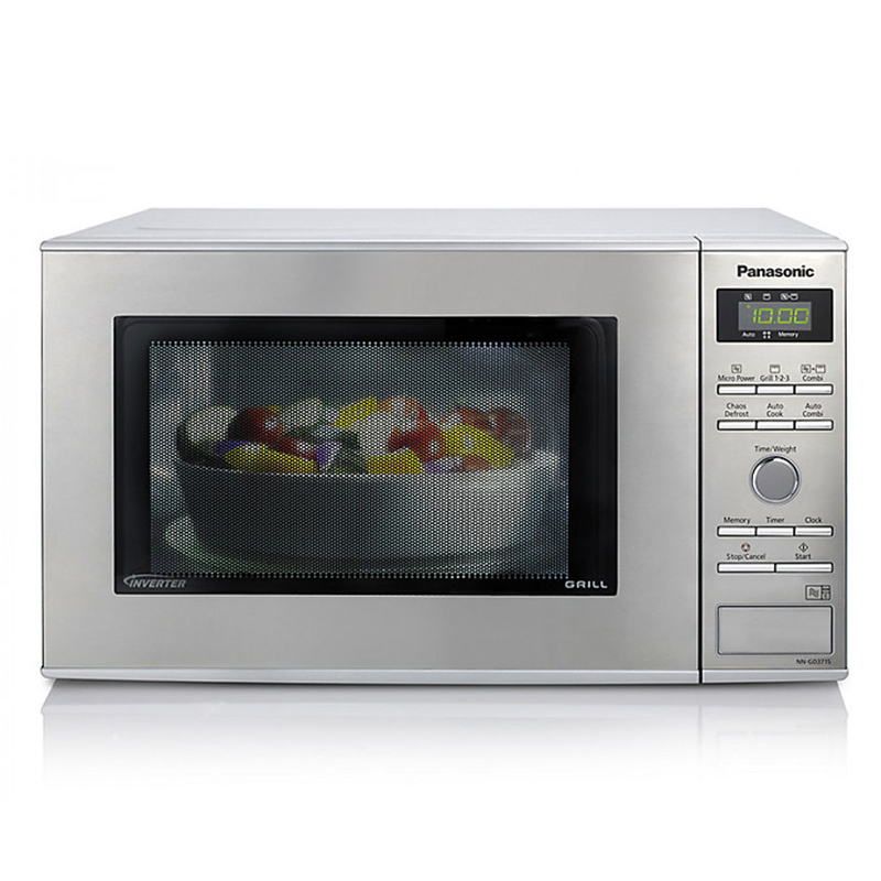 Image of 1000Watts Compact Microwave & Grill Stainless Steel