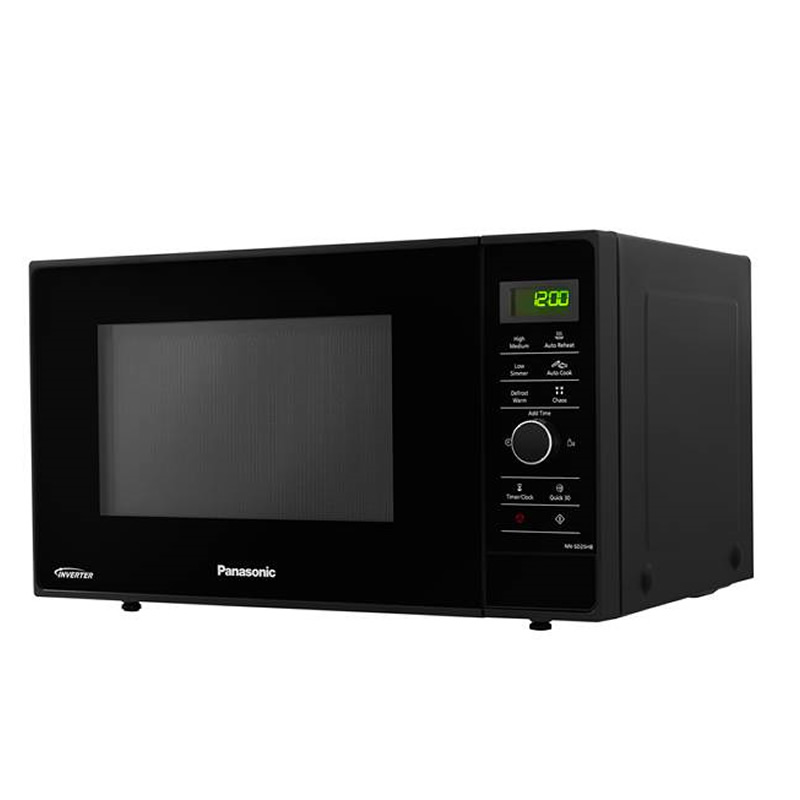 Image of 1000Watts Compact Microwave 23litres Black
