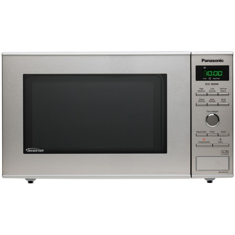 1000Watts Compact Microwave 23litres Stainless Steel
