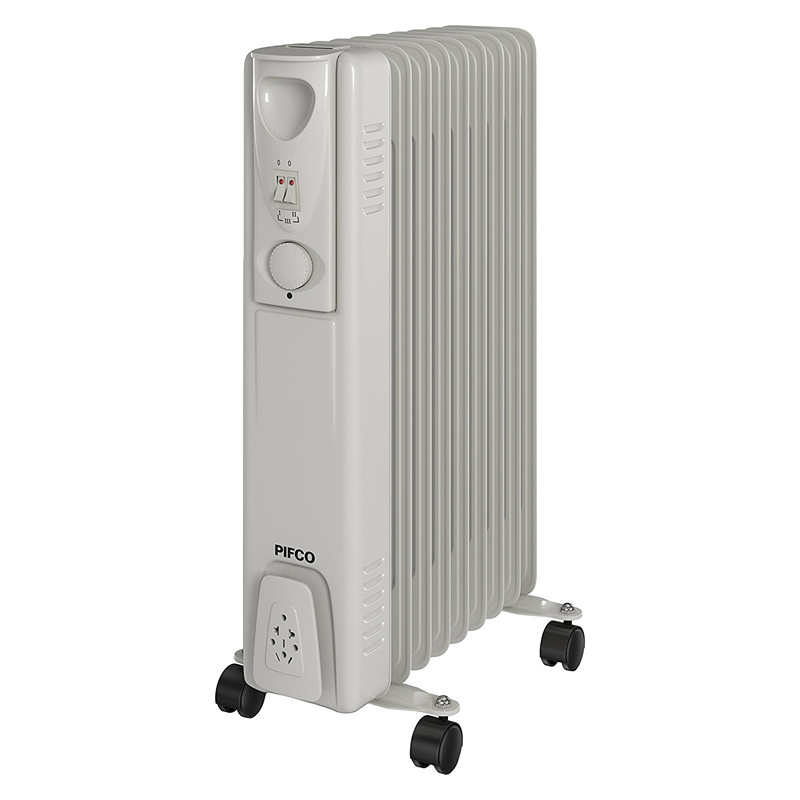 Image of 2.0kW Oil-Filled Radiator 3 Power Settings White
