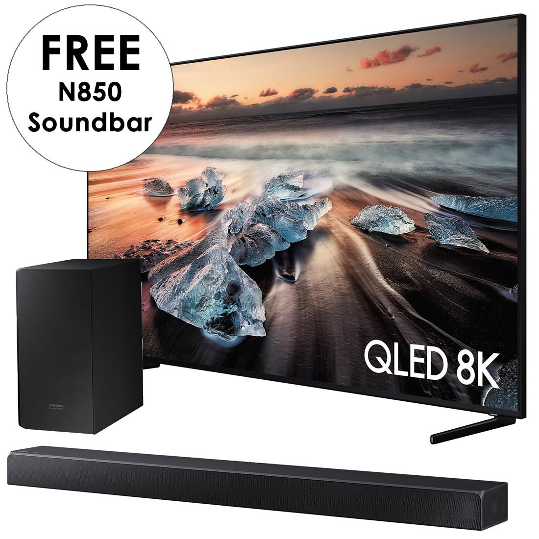 Image of 85inch QLED UHD 8K HDR3000 SMART TV Twin Tuner TVPlus