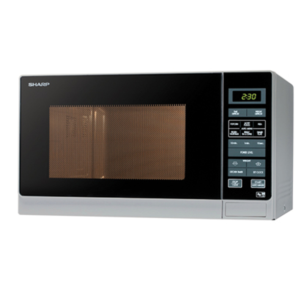 900Watts Microwave Oven 25litre 11 Power Levels Silver