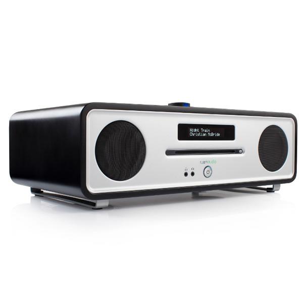 DAB Digital Radio & CD Player Bluetooth Black