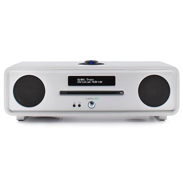 DAB Digital Radio & CD Player Bluetooth White