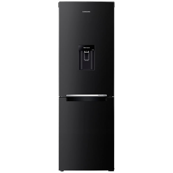 309litre Fridge Freezer Frost Free Water Dispenser Blac