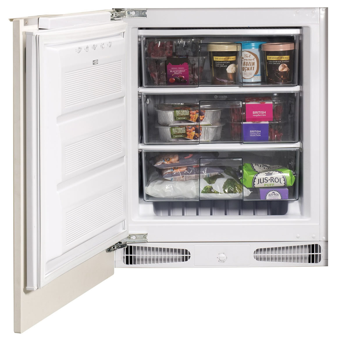 107litres Integrated Freezer Class A+ White