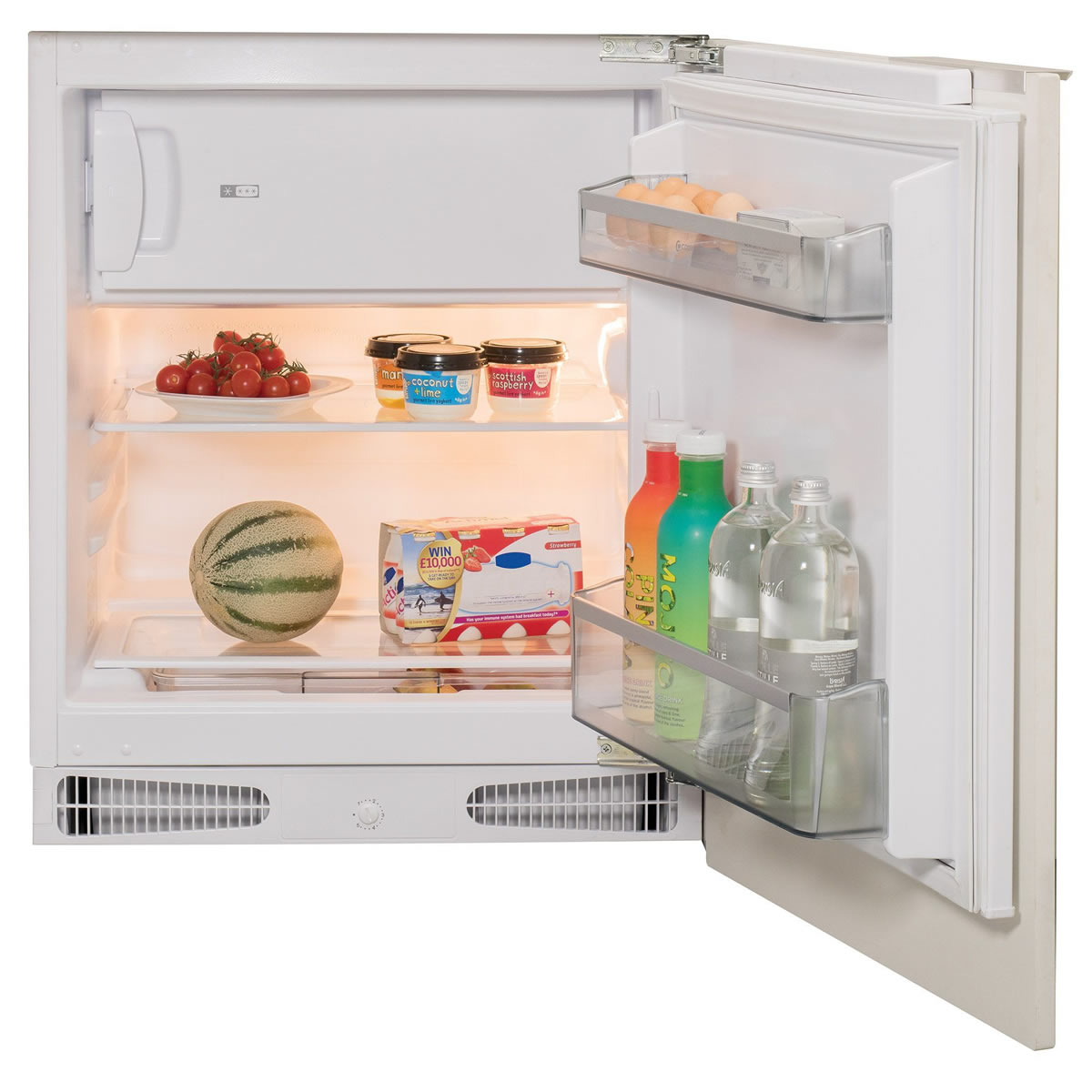136litre Integrated Fridge Auto Defrost Class A+